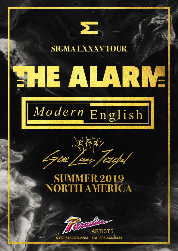 The Alarm - Sigma Tour